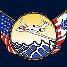 Flags Series - US Coast Guard HU-25 Guardian by AlwaysReadyCltv