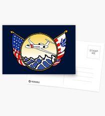 Flags Series - US Coast Guard HU-25 Guardian Postcards
