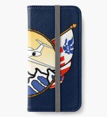 Flags Series - US Coast Guard HU-25 Guardian iPhone Wallet/Case/Skin