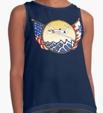 Flags Series - US Coast Guard HU-25 Guardian Sleeveless Top