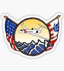 Flags Series - US Coast Guard HU-25 Guardian Sticker