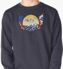 Flags Series - US Coast Guard HU-25 Guardian Pullover Sweatshirt