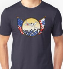 Flags Series - US Coast Guard HU-25 Guardian Slim Fit T-Shirt