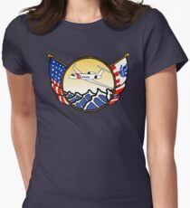 Flags Series - US Coast Guard HU-25 Guardian Fitted T-Shirt