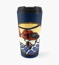 Flags Series - US Coast Guard HH-65 Swimmer Hoist Travel Mug