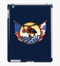 Flags Series - US Coast Guard HH-65 Swimmer Hoist iPad Case/Skin
