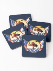 Flags Series - US Coast Guard HH-65 Swimmer Hoist Coasters