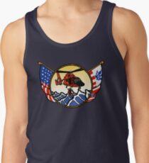 Flags Series - US Coast Guard HH-65 Swimmer Hoist Tank Top