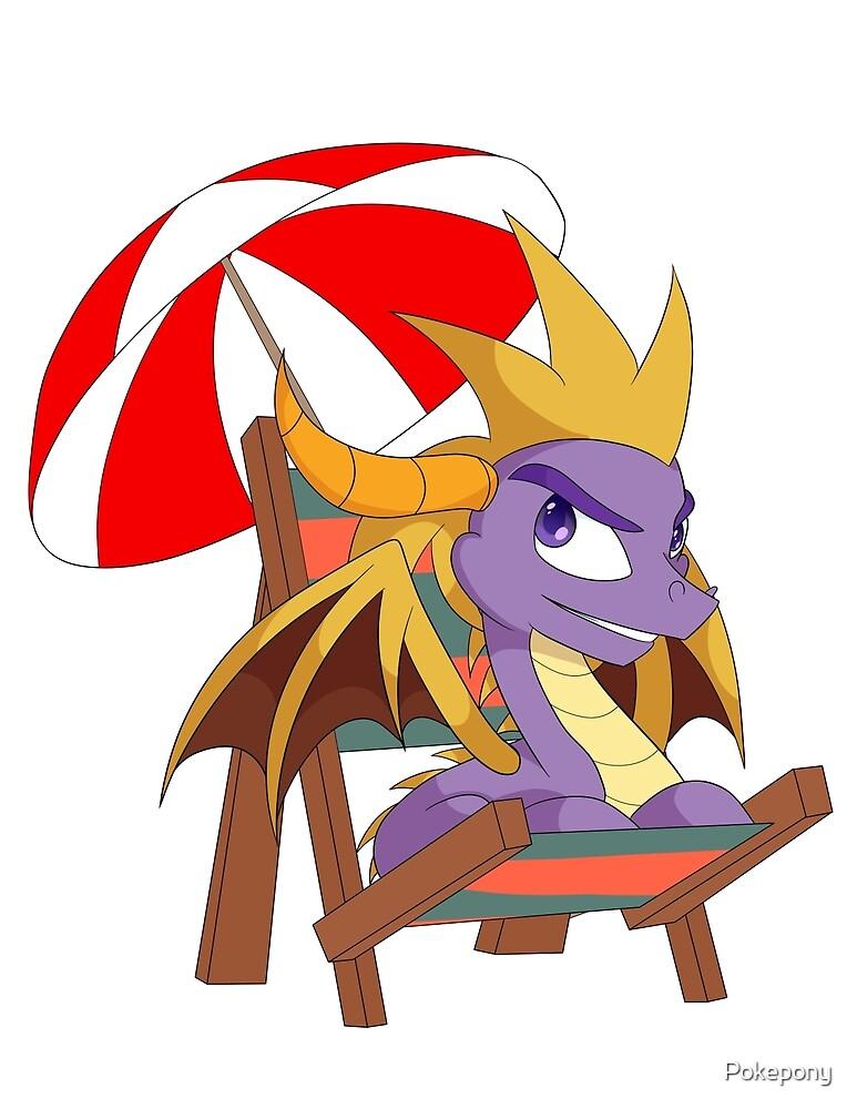 Spyro the Dragon by Pokepony