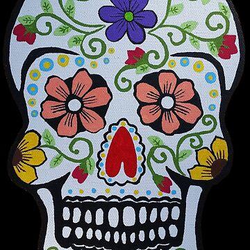 Sugar Skull by Itsmykanvas