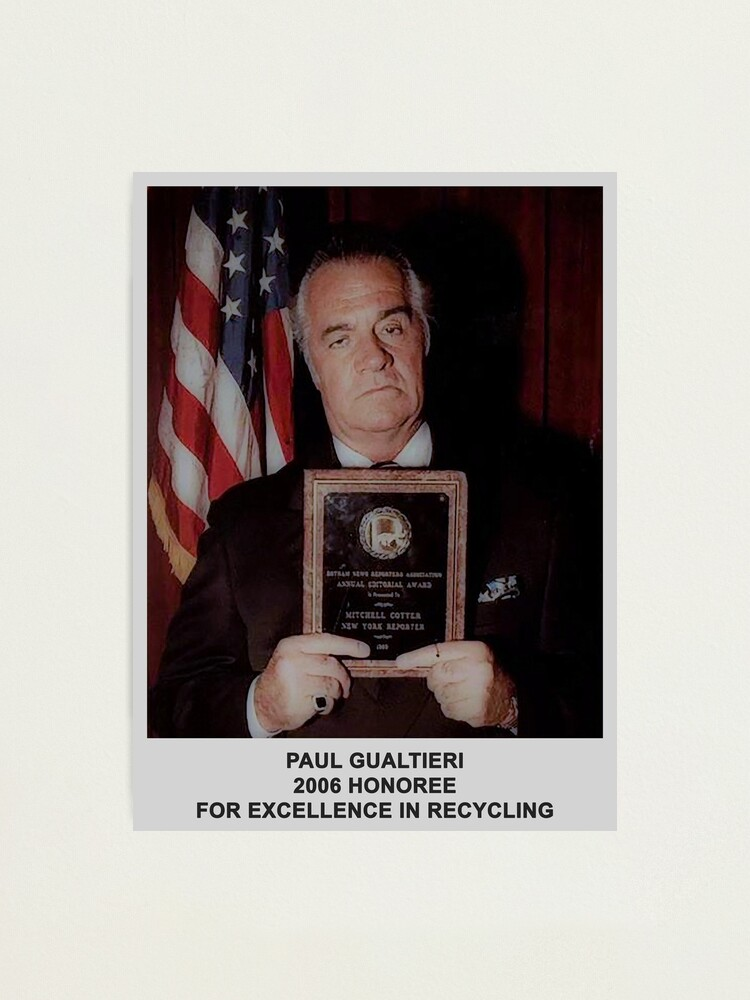 Alternate view of 2006 Honoree Paul Gualtieri Poster Photographic Print