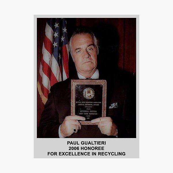 2006 Honoree Paul Gualtieri Poster Photographic Print