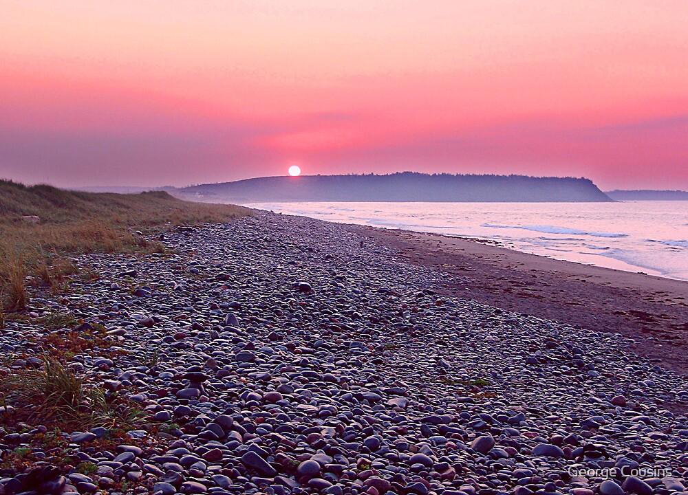 Atlantic Sunrise by George Cousins