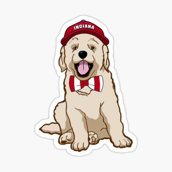 Indiana Pup Sticker