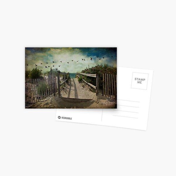 Seaside rendez-vous Postcard