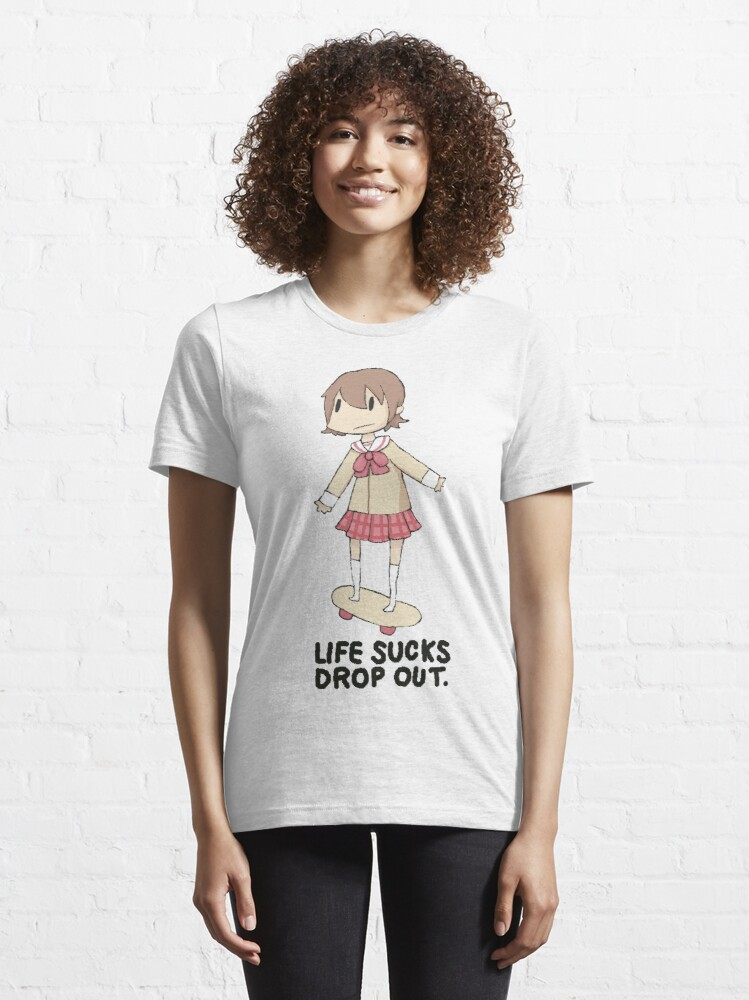 Alternate view of life sucks drop out Essential T-Shirt