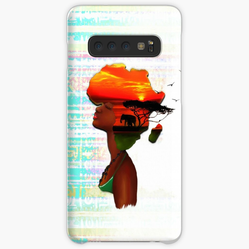 African Sunset Samsung Galaxy Snap Case