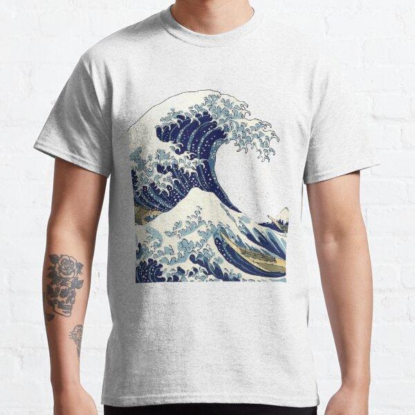 The Great Wave off Kanagawa by Hokusai Classic T-Shirt