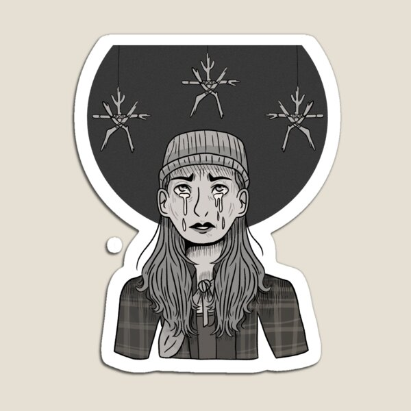 Horror Inktober Day 13: Heather from The Blair Witch Project Magnet