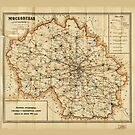 Map of Moscow, Russia (1915) by allhistory