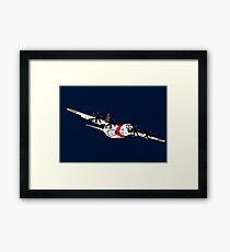 US Coast Guard C-130 Hercules Framed Print