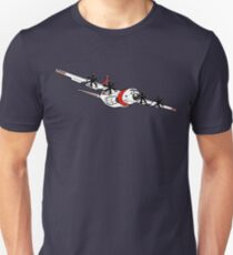 US Coast Guard C-130 Hercules Slim Fit T-Shirt