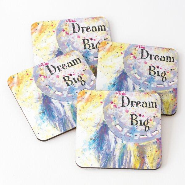 Dream Big Coasters (Set of 4)