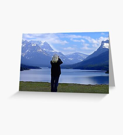 Capturing Paradise Greeting Card