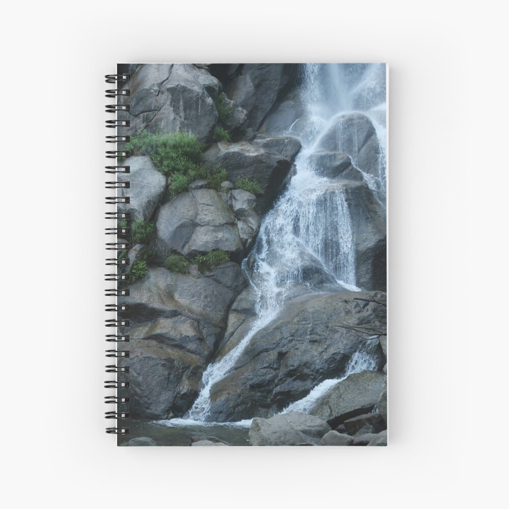 Grizzly Falls Spiral Notebook