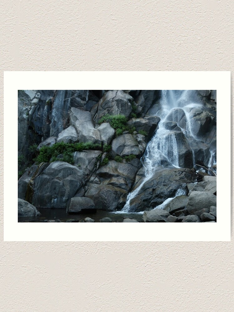Alternate view of Grizzly Falls Art Print