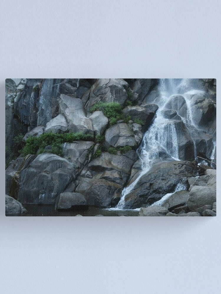 Alternate view of Grizzly Falls Canvas Print