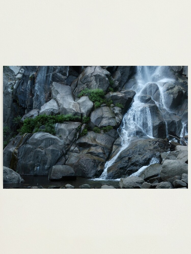 Alternate view of Grizzly Falls Photographic Print