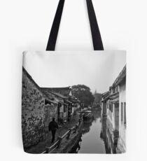 Old Waterways Tote Bag