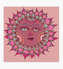 Gypsy Rose Sun Photographic Print