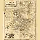 Map of Nizhny Novgorod Oblast, Russia (1861) by allhistory