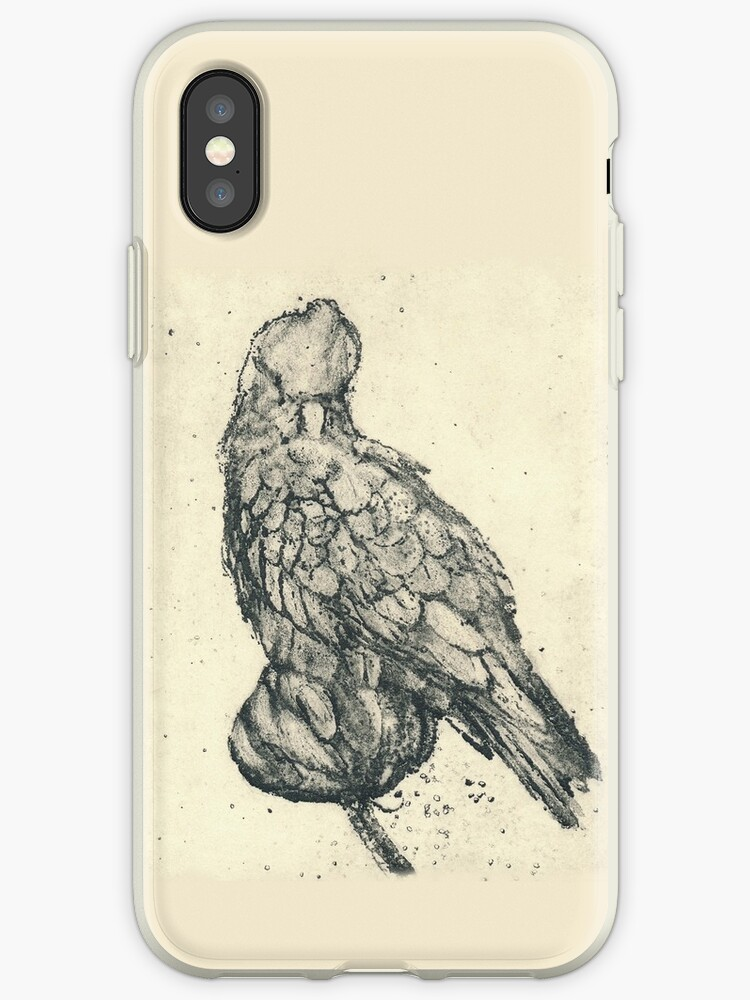 Galah - Sugarlift Etching Case by STHogan