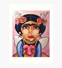 Frida : Wings Art Print