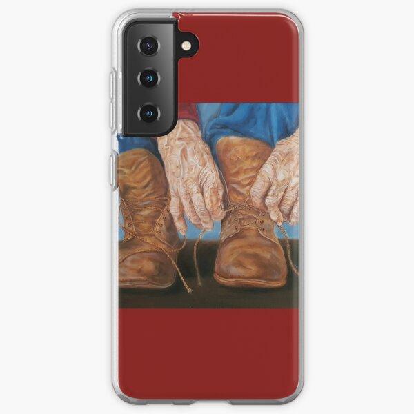 Work hands Samsung Galaxy Soft Case