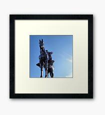 Stonewall Jackson, Manassas Framed Print