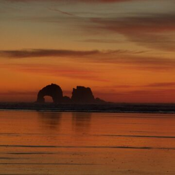 Twin rocks, Oregon by hannah109