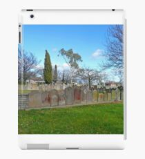 Headstones, Christ Church, Longford iPad Case/Skin