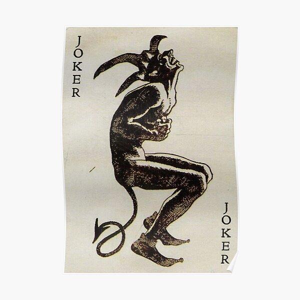 Joker evil Poster
