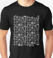 Board Game Pieces – Inverted Slim Fit T-Shirt
