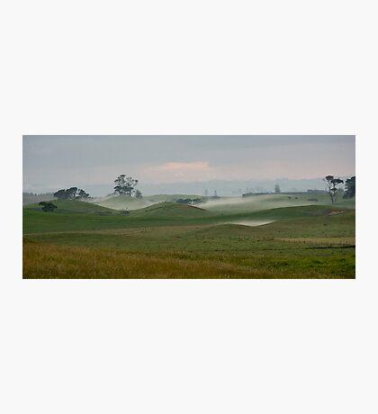 Misty morning - Northland NZ Photographic Print