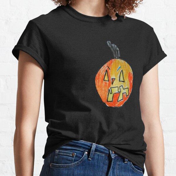 Pumpkin Face #03 Classic T-Shirt