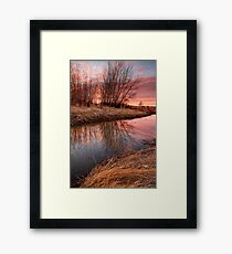 Water Color Framed Print