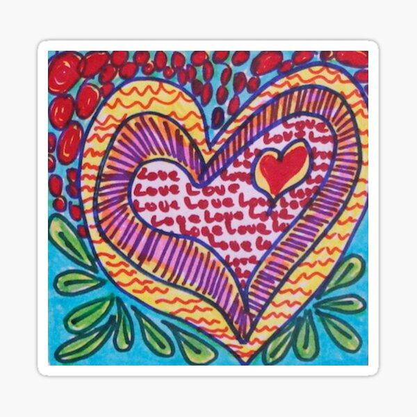 Zen Heart Sticker