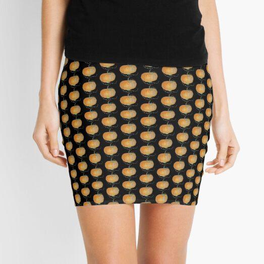 Pumpkin #04 Mini Skirt