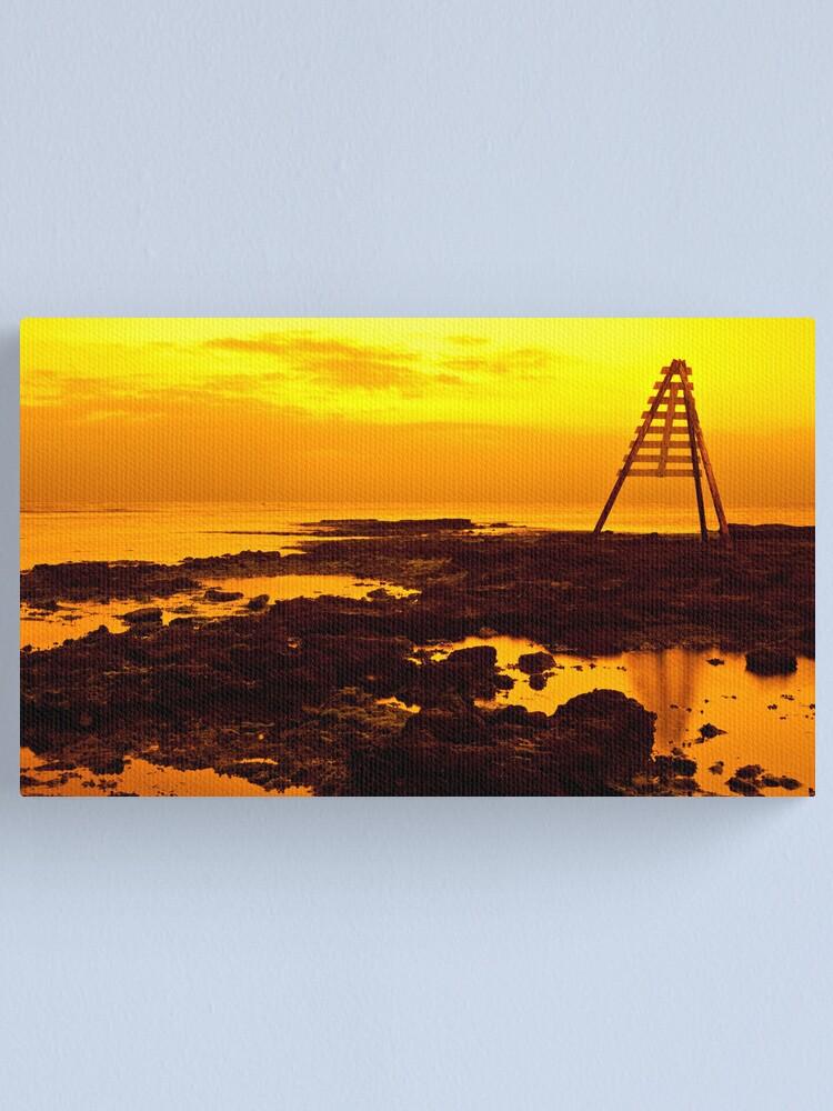 Alternate view of Golden Sunset Canvas Print