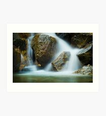 Granite Pool Art Print